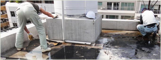 貯水槽清掃工事ビフォーアフター